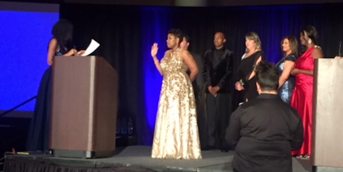 the Nevada Association of Real Estate Brokers (NAREB) gala