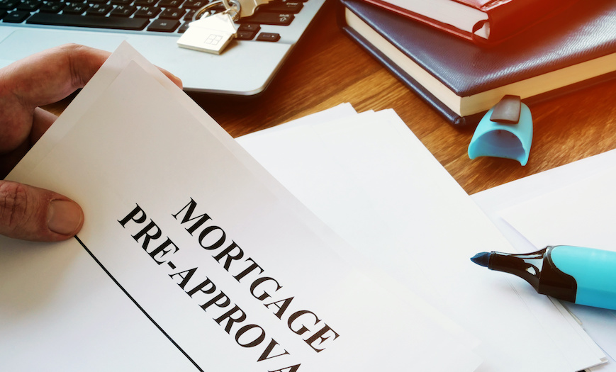 Mortgage pre-approval form