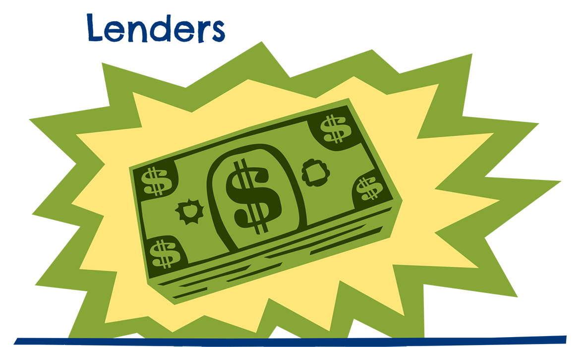 Money icon for lender page