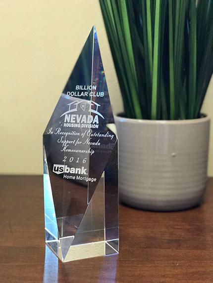 US Bank trophy