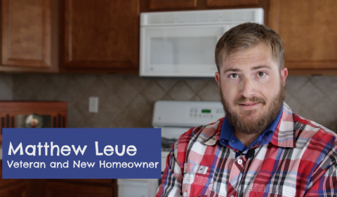 Home is Possible for Heroes Testimonial: Matthew Leue