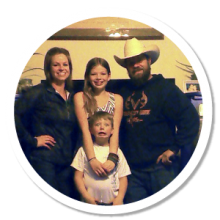 Amber S. and her family