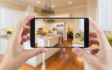 Taking real estate photos with phone